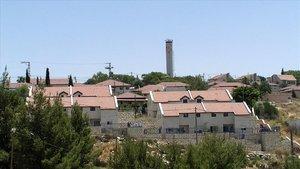 Asentamiento de colonos de Neria, en el noroeste de Ramala, Cisjordania.