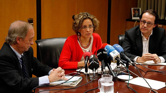 La consellera de Ensenyament, Meritxell Ruiz, satisfecha por los resultados de Catalunya en el informe Pisa.