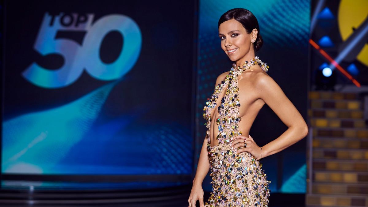Cristina Pedroche en la imagen de promoción de TOP 50.