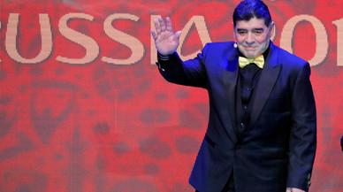 Maradona no puede entrar otra vez a Estados Unidos