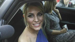 Edurne, el pasado 20 de mayo, acude a la boda de Risto Mejide y Laura Escanes.