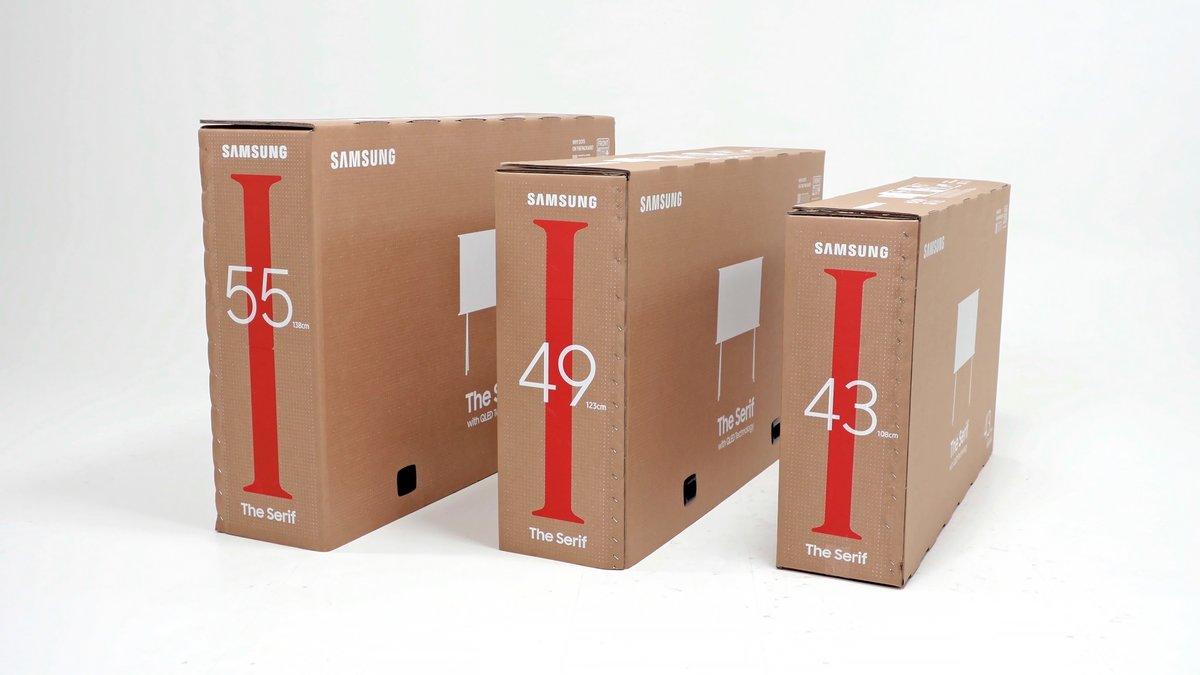 Samsung presenta la gama de TV Lifestyle con embalaje sostenible