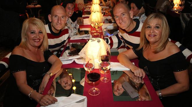 Cena de gemelos en Casa Bonay.