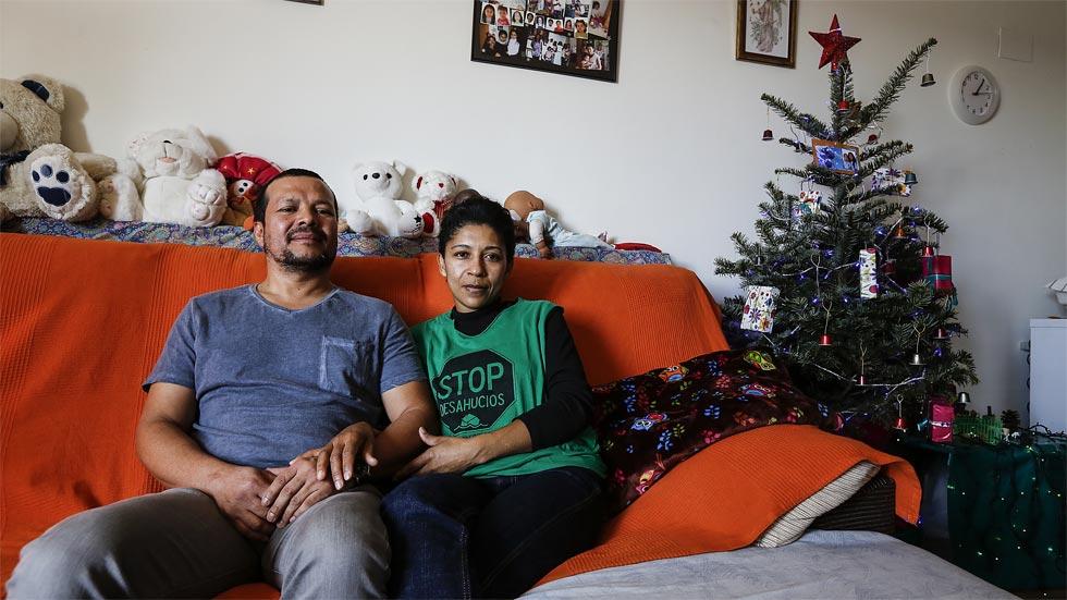 La primera Navidad tras perder la casa. El caso de Matilde Gómez.