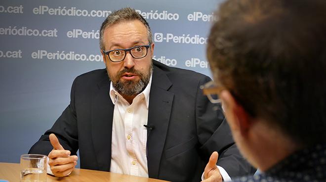 El Portavoz del grupo parlamentario de Ciudadanos en el Congreso de los Diputados, habla sobre su pasado en el PP, los mejores presidentes, y su relación con Homs y Rufián.