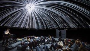 Espectáculo 'End(O)' en la cúpula de 360 grados de Alba G. Corral