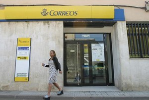 Oficina de Correos en la localidad de Calella (Maresme).