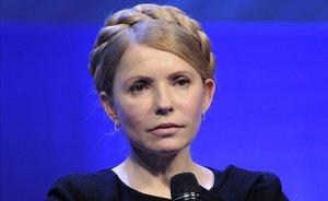 La exprimera ministra ucraniana Yulia Tymoshenko.