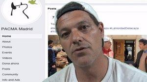 Frank Cuesta, en su vídeo contra Pacma.