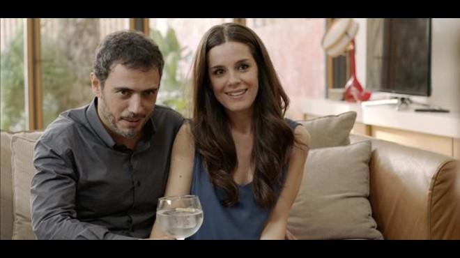 Julio Manrique y Núria Gago.