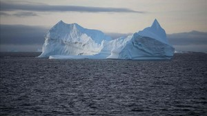 Un iceberg antártico.