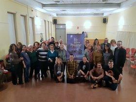 Imagen del primer taller de teatro en el barrio de Marianao de Sant Boi
