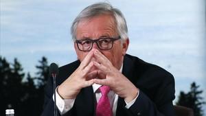 El presidente de la Comisión Europea,Jean-Claude Juncker.