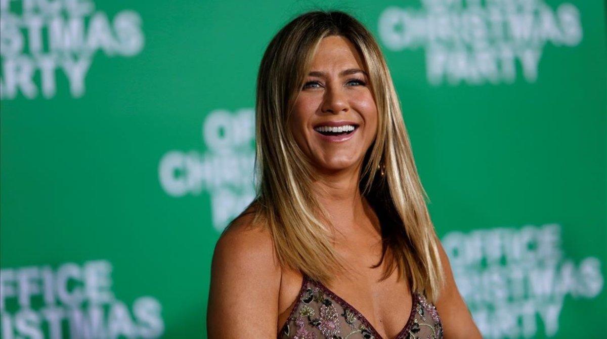Una foto de archivo de Jennifer Aniston.