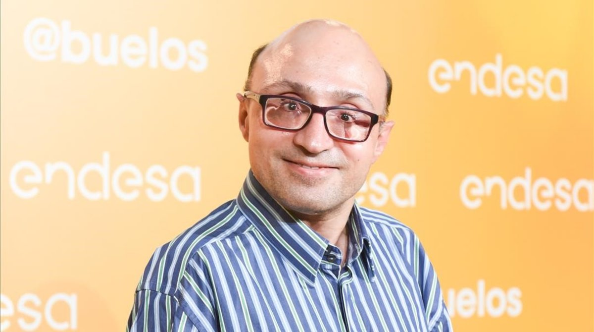 El actor Jesus Vidal posa en elestreno de 'Abuelos' el pasado 9 de octubre.