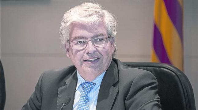 Jordi Cornet, delegado especial del Estado en el Consorci de la Zona Franca de Barcelona.