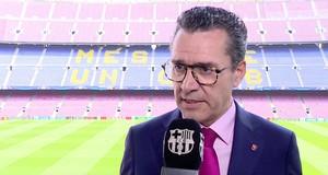 Josep Vives, el portavoz del Barça.