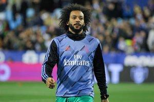 El jugador del Real Madrid, Marcelo Vieira.