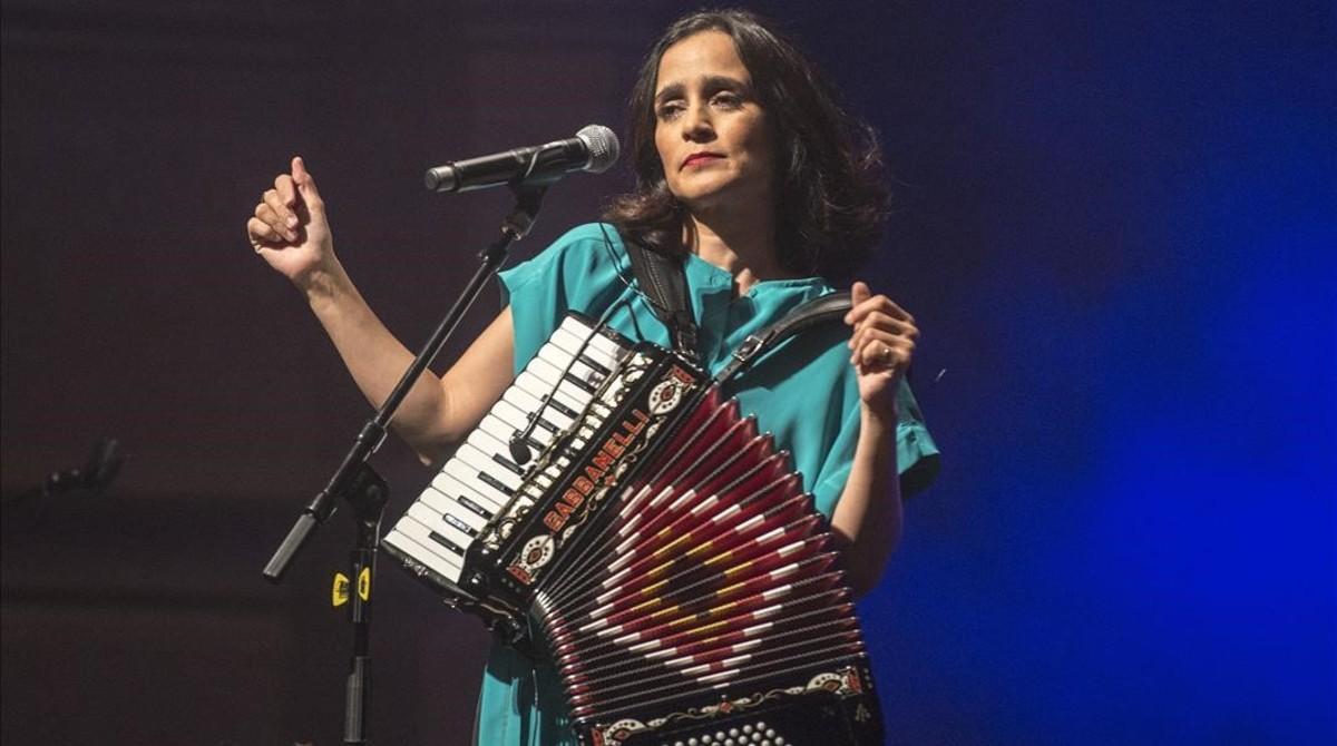 Julieta Venegas. en el Liceu, dentro del Suite Festival.