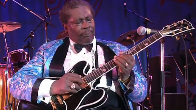 B. B. King toca 'The thrill is gone' (1970), en un concert a Motreux, el 1993.
