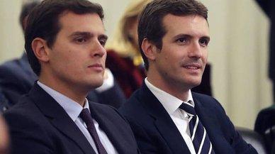 PP y Cs pugnan por la derecha que quiere mano dura en Catalunya