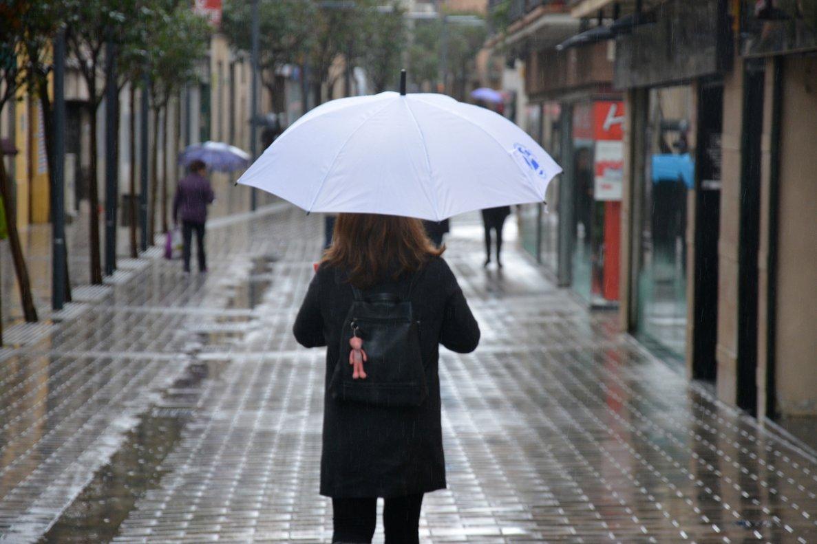 Lluvia en Rubí.