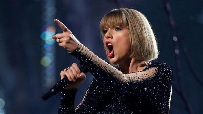 Taylor Swift, en un concierto.