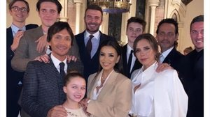 David y VictoriaBeckham bautizan a sus hijos menores, Cruz y Harper.