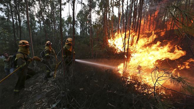 Los graves incendios de 2017 en Galiciapodrían volver a repetirse.