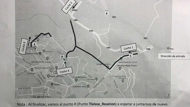 Los Mossos identifican a 14 personas por retirar símbolos independentistas en Tarragona