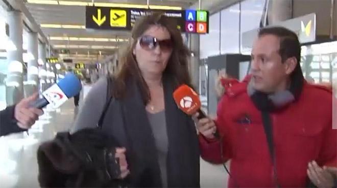 La madre de la pequeña Nadia ha viajado hoy desde Mallorca hasta Lleida para prestar declaración ante el juez de La Seu dUrgell que instruye el caso.