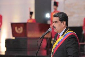 El presidente de Venezuela, Nicolás Maduro. AFP
