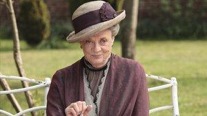 Maggie Smith, en su papel de condesa de Grantham en 'Downton Abbey'.
