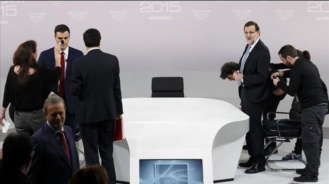 Rajoy acepta ahora un debate a cuatro y rechaza un cara a cara con Sánchez