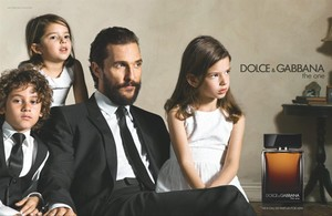 Matthew McConaughey interpreta a un amoroso padre para Dolce & Gabbana