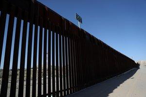 La frontera entre México y los Estados Unidos. AFP