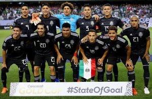 La selección de fútbol de México ganó la Copa de Oro 2019 en los EEUU. AFP