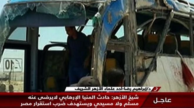 26 morts en un atemptat contra un autobús de cristians coptes a Egipte