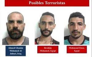 Integrantes del Estados Islámico detenidos en Nicaragua.