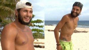 Omar y Fabio se bañan desnudos para despedirse de 'Supervivientes'