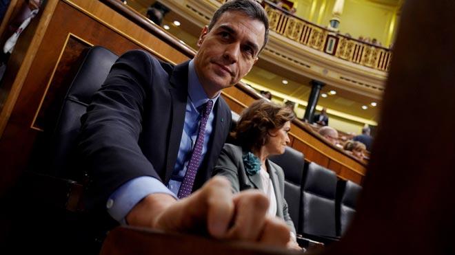 Pedro Sánchez a Pablo Casado: Abandone la bronca y el catastrofismo.