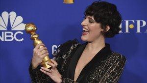 Phoebe Waller-Bridge, con el Globo de Oro a mejor actriz de comedia o musical por 'Fleabag'
