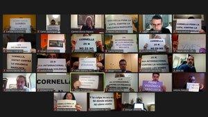 El pleno municipal de Cornellà guarda un minuto de silencio por las víctimas de violencia machista