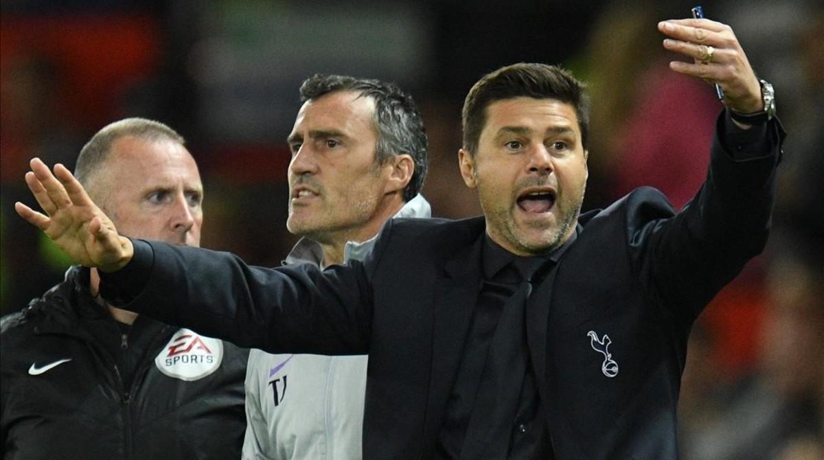 Pochettino, técninco del Tottenham.