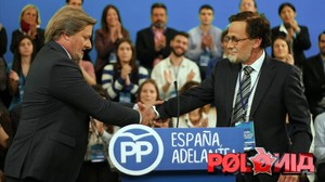 Los Ínigo Méndez de Vigo (Toni Albà) y Mariano Rajoy (Queco Novell) delprograma Polònia (TV-3).