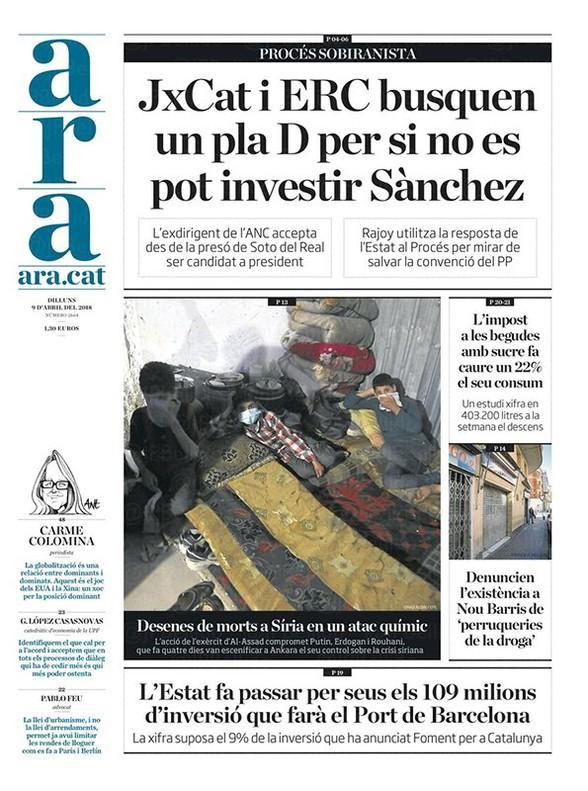 El respaldo a los presos independentistas divide a los sindicatos mayoritarios, según 'El País'