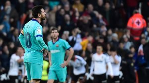 Primera derrota del Barça desde que llegó Setién al banquillo.