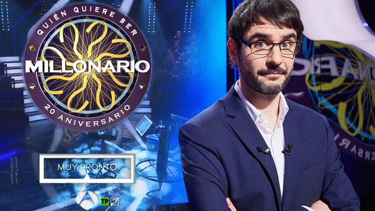Antena 3 comienza a promocionar el regreso de '¿Quién quiere ser millonario?'