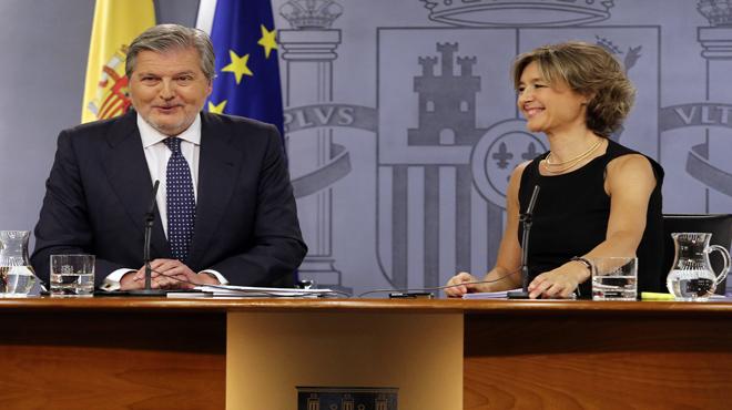 Íñigo Mendez de Vigo y Isabel García Tejerina.