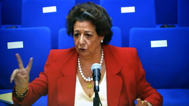 Rita Barberá asegura que Samaranch le sugirió a Urdangarin para los Valencia Summit